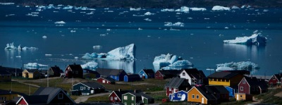 global warming sounds like a great thing in Greenland